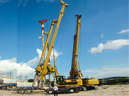 Hydraulic Rotary Drilling Rig With Air Consumed For Foundation Pile Max Drilling Depth 55m