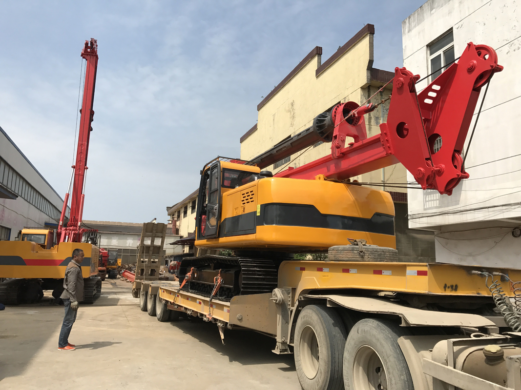 Soil Rejection Head 32m 32Mpa Mud Drilling Machine