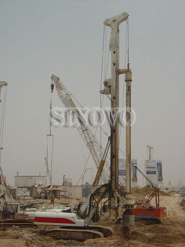 Reliable CFA Equipment For Oil Drilling Equipment TR250W Rated Power 187kw