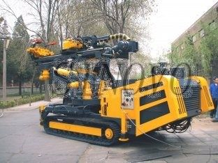 Hydraulic Crawler Drills With High Rotation Speed for Double Motor Lifting Force 50KN